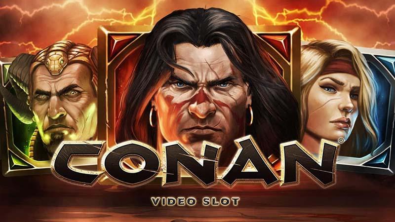 Conan Slot Logo