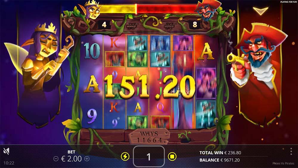 Pixies vs Pirates Slot - Free Spins