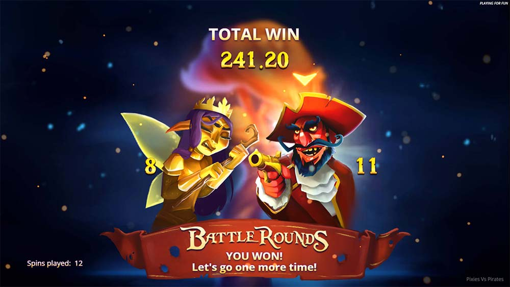 Pixies vs Pirates Slot - Free Spins Re-Trigger