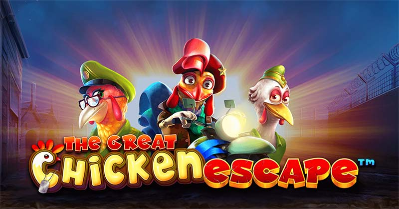 The Great Chicken Escape Slot Logo