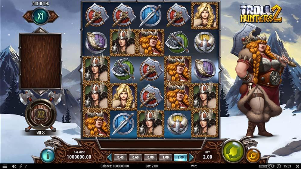 Troll Hunters 2 Slot - Base Game