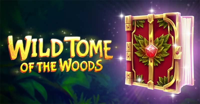 Wild Tome of the Woods Slot Logo