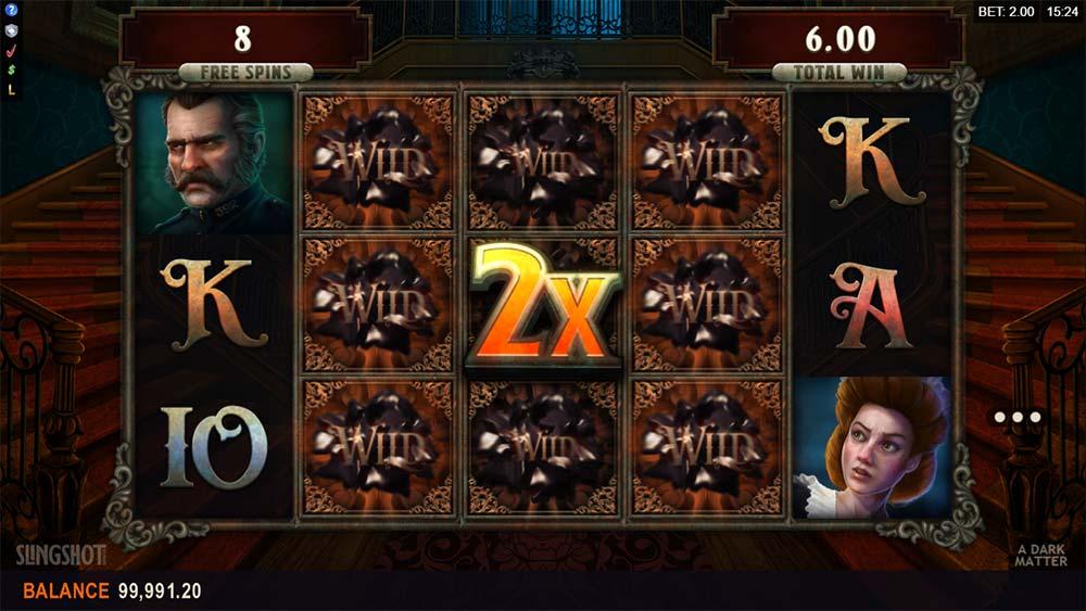 A Dark Matter Slot - 2x Multiplier