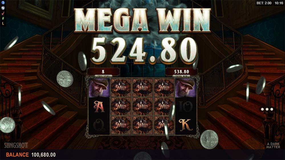 A Dark Matter Slot - Mega Win