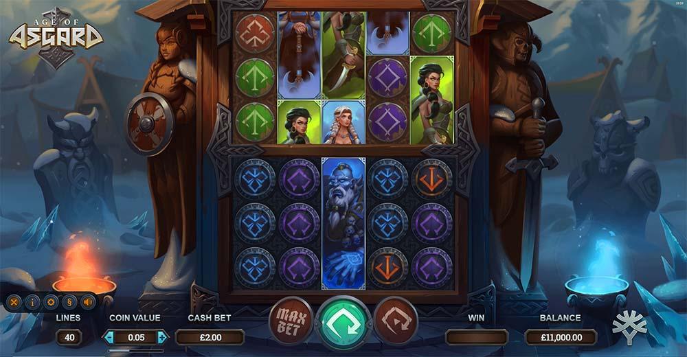 Age of Asgard Slot - Base Game