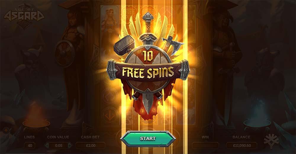 Age of Asgard Slot - Free Spins