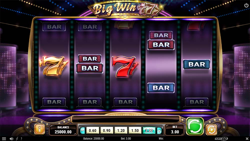 Big Win 777 Slot - Base Game