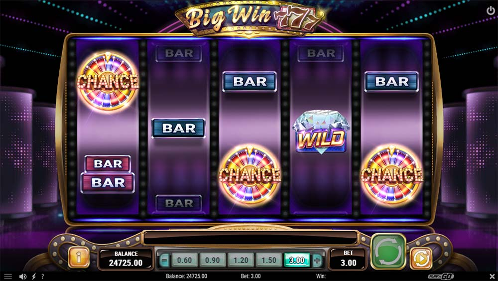 Big Win 777 Slot - Bonus Trigger