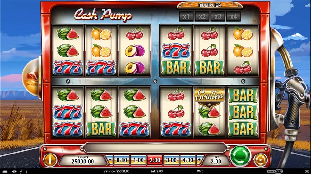 Cash Pump Slot - Base Game