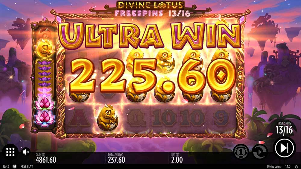 Divine Lotus Slot - Ultra Win