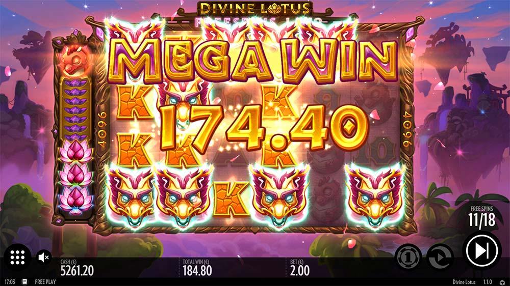 Divine Lotus Slot - Mega Win