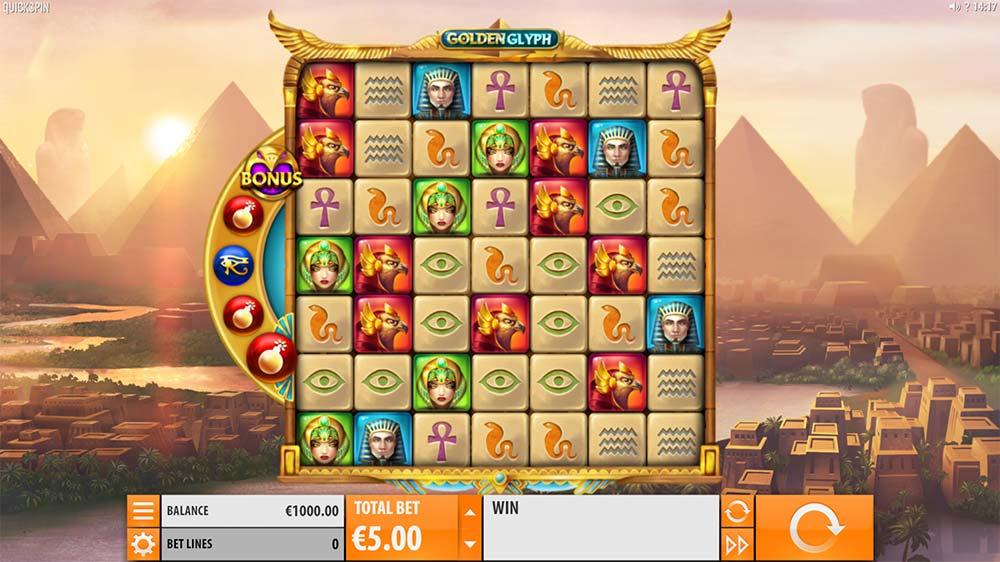 Golden Glyph Slot - Base Game
