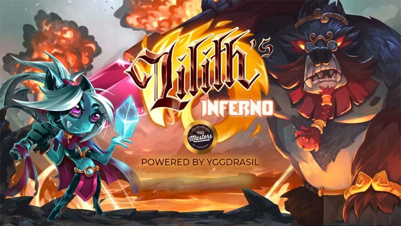 Lilith's Inferno Slot Logo