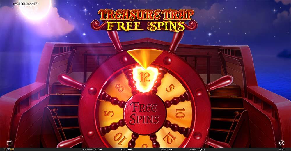 Lost Boys Loot Slot - Treasure Trap Free Spins