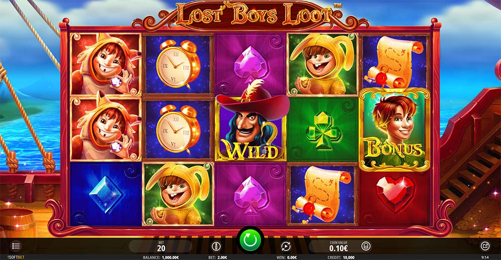 Lost Boys Loot Slot - Base Game