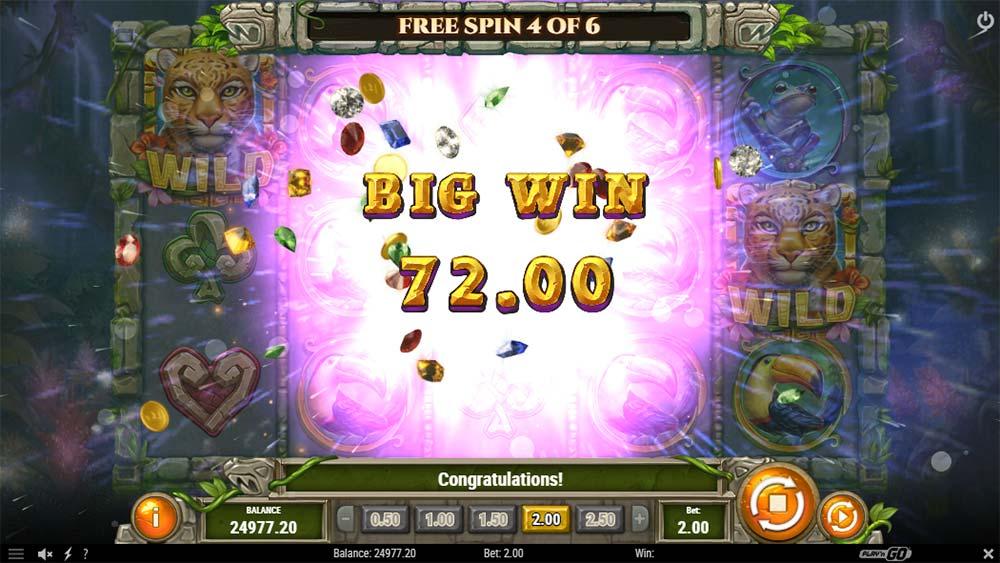 Rainforest Magic Slot - Big Win