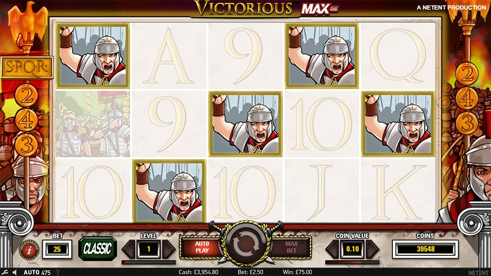 Victorious Max Slot - 5 of a kind