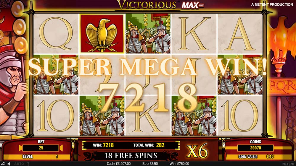 Victorious Max Slot - Super Mega Win