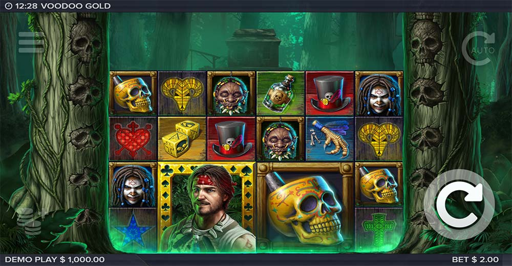Voodoo Gold Slot - Base Game