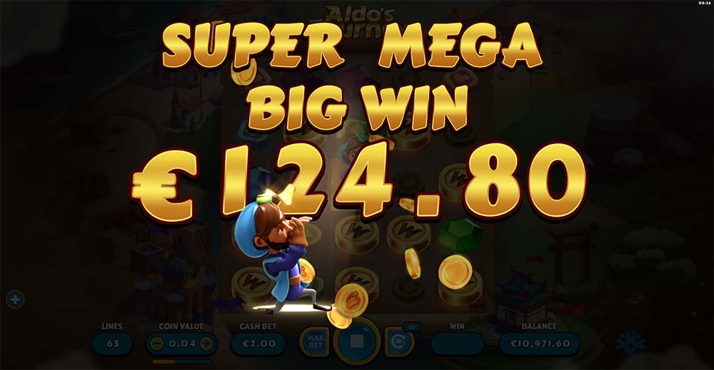 Aldo's Journey Slot - Super Mega Big Win