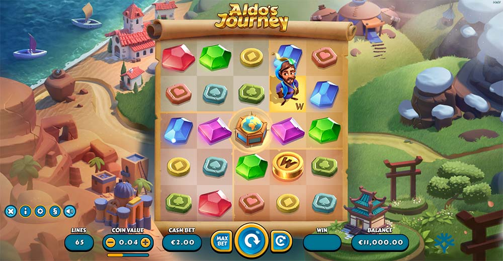 Aldo's Journey Slot - Base Game