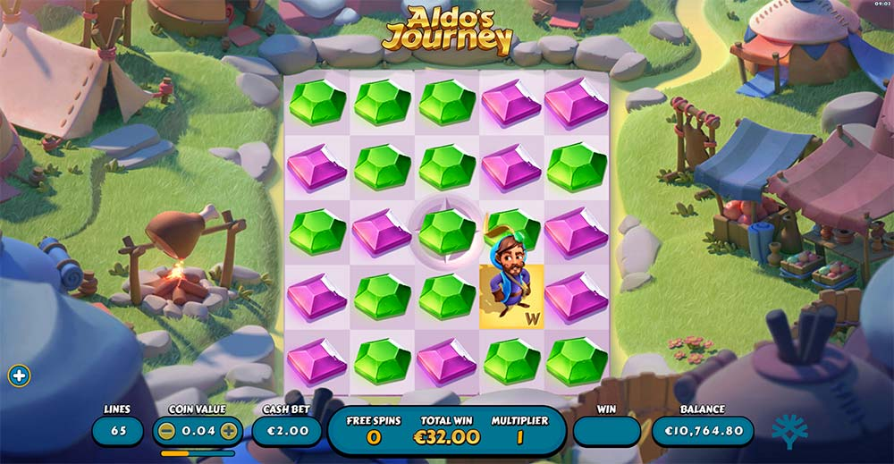 Aldo's Journey Slot - Free Spins