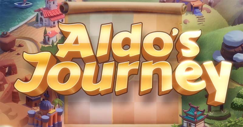 Aldo's Journey Slot Logo