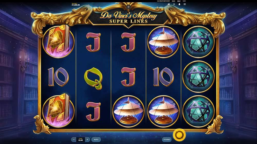 Da Vinci's Mystery Slot - Base Game