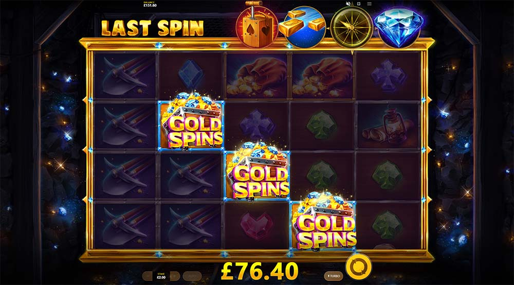 Dynamite Riches Slot - Free Spins Re-Trigger