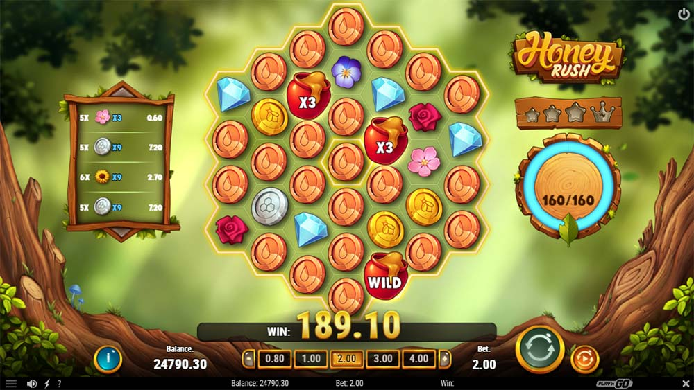 Honey Rush Slot - Queen Colony Feature