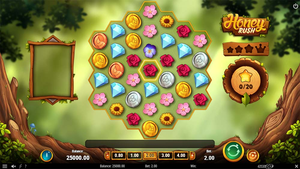 Honey Rush Slot - Base Game