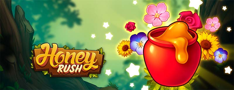 Honey Rush Slot Logo