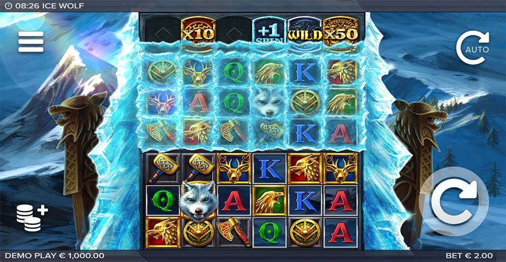 Ice Wolf Slot - Base Game