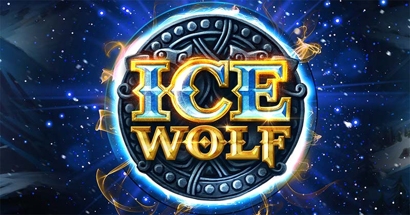 Ice Wolf Slot Logo