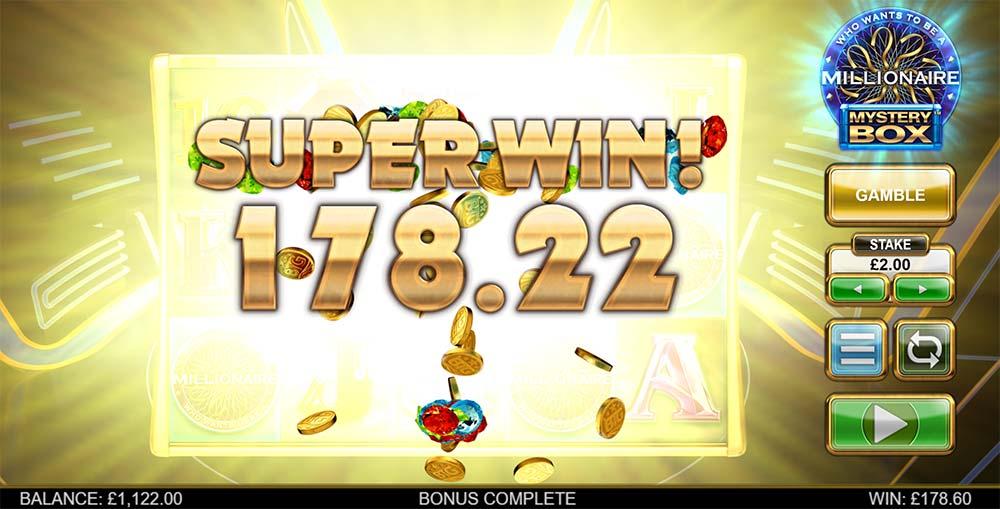Millionaire Mystery Box Slot - Super Win