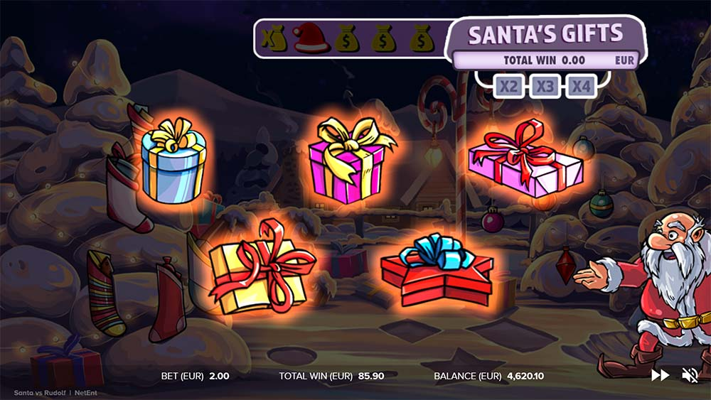 Santa vs Rudolf Slot - Picking Round