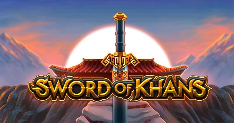 Sword of Khans Slot Logo