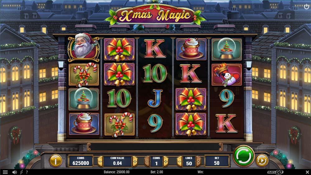 Xmas Magic Slot Machine