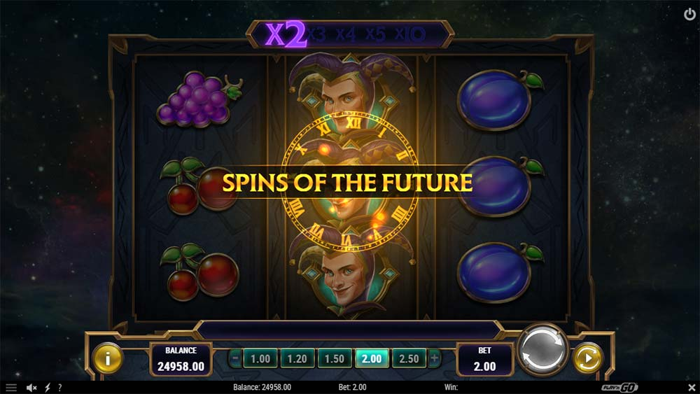 Chronos Joker Slot - Spins of the Future