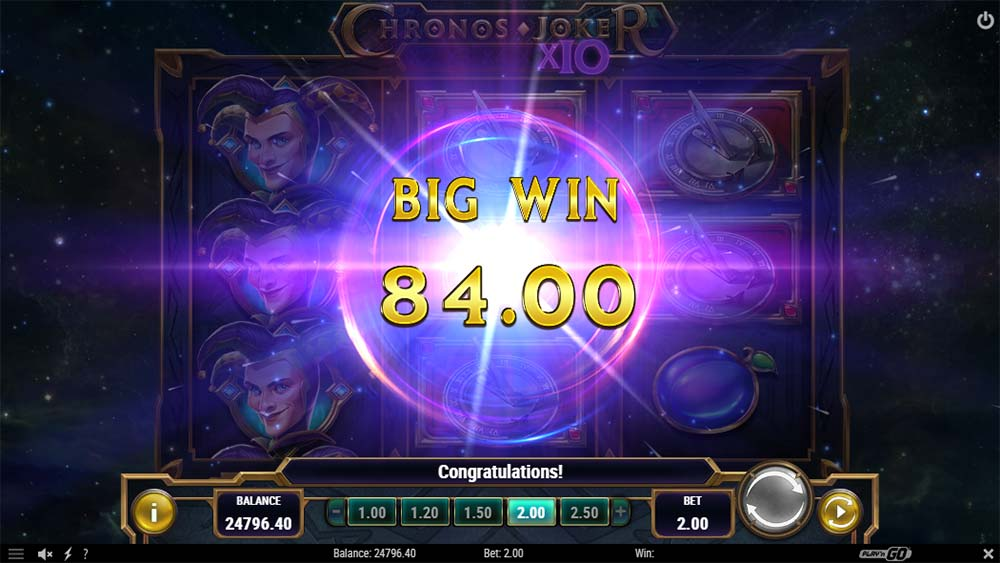 Chronos Joker Slot - Big Win