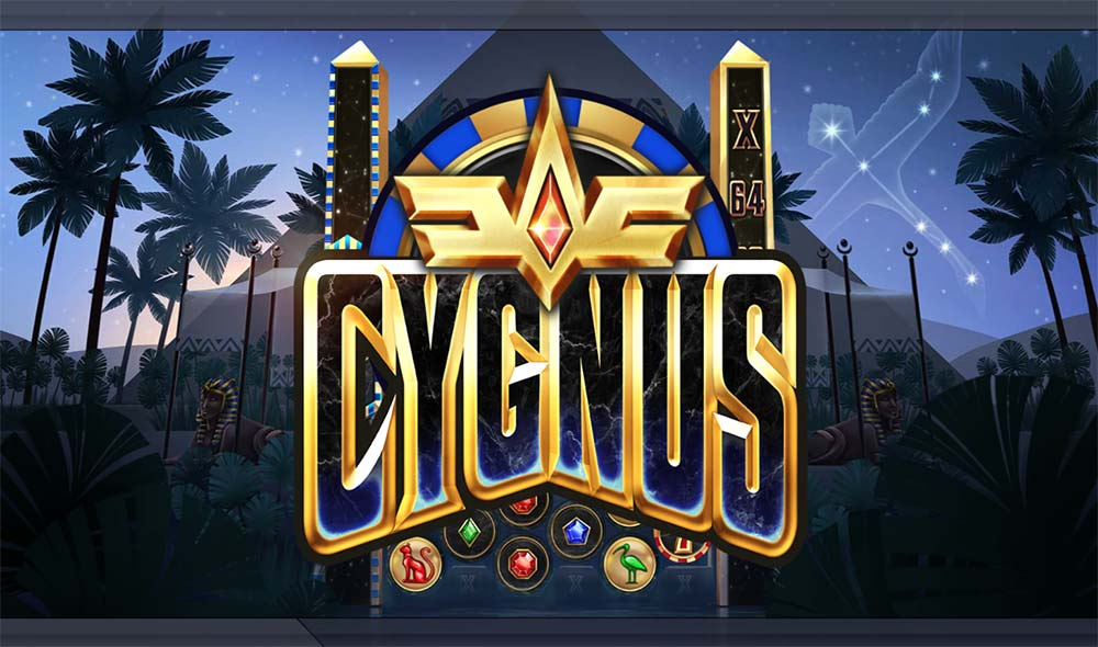 Cygnus Slot - Intro Screen