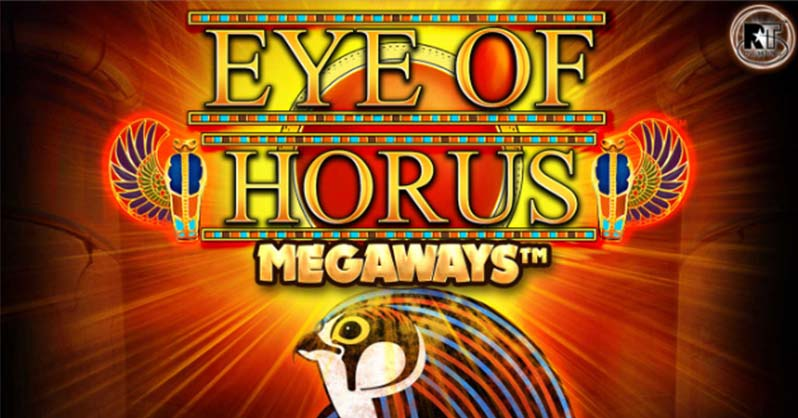 Eye of Horus Megaways Slot Logo