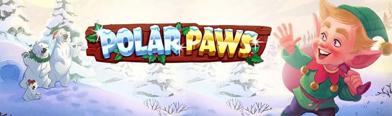 Polar Paws Slot Logo