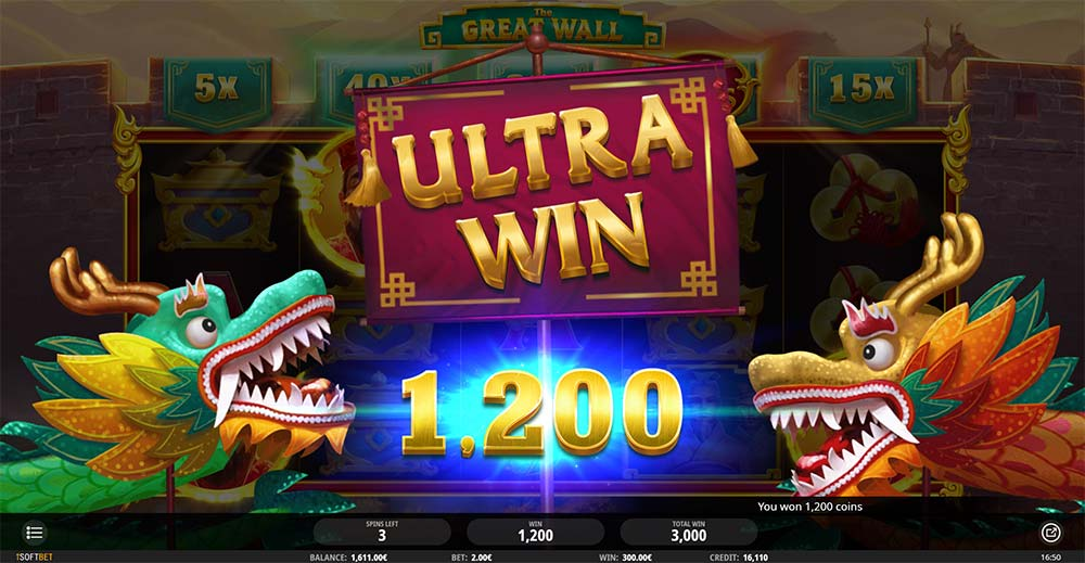 The Great Wall Slot - Ultra Win