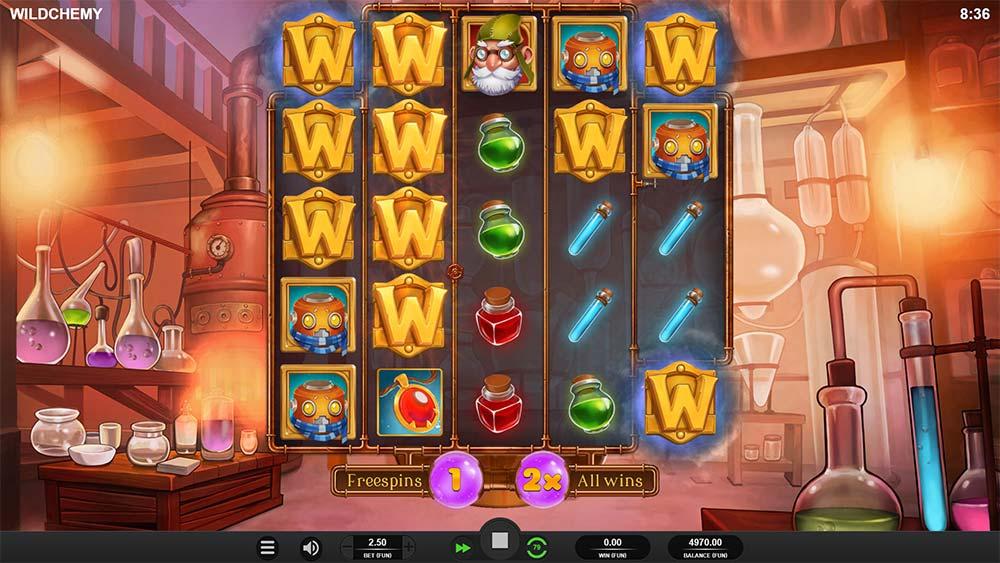 Wildchemy Slot - Free Spins