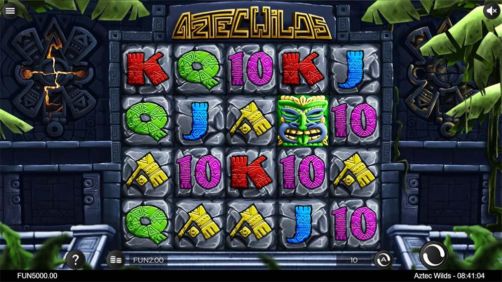 Aztec Wilds Slot - Base Game