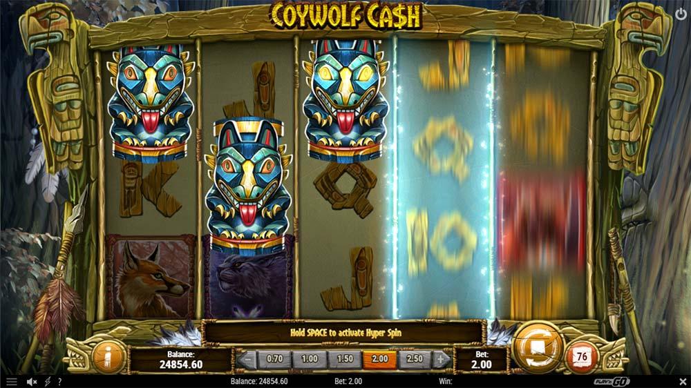 Coywolf Cash Slot - Bonus Trigger