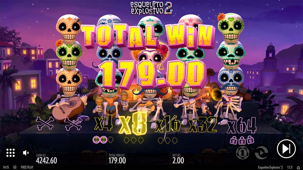 Esqueleto Explosivo 2 Slot - Total Win