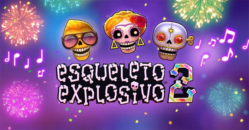Esqueleto Explosivo 2 Slot Logo