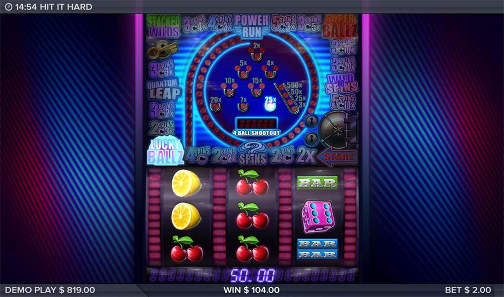 Hit it Hard Slot - Lucky Ballz Feature